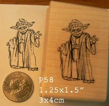 P58 Yoda rubber stamp