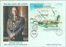 84701 - FALKLAND - Postal History -  S/S on FDC COVER 19791 Aviation ROYALTY