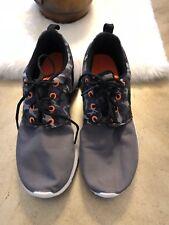 Nike Roshe One Dark Grey Black Anthracite shoes 677782-004 youth 5.5Y W6.5