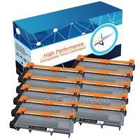 10 PK High-Yield Black Toner Lots For Brother TN660 TN630 DCP-L2540DW MFC-2700DW