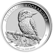 Kookaburra 2021 Silber 1 OZ Unze Silver Argent Australien Australian Australie