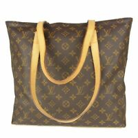 Auth LOUIS VUITTON M51151 Monogram Cabas Mezzo Tote Hand Bag France 11571bkac