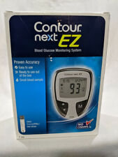 Contour Next EZ  Glucometer Blood Glucose Monitoring Diabetic Kit Exp 1/21