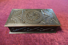 Beautifully Antique Carved Box
