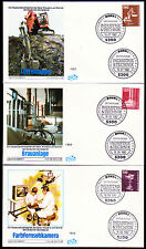 Bund 1134-38 FDC, Industrie + Technik 1982