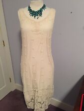XCVI Lace Dress With Lining Size Medium NWT Could Be Worn As Wedding Dress