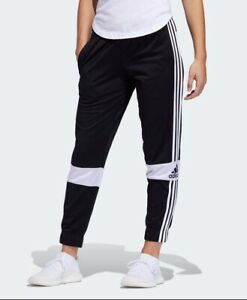 NWT Adidas Cropped Joggers Womens Size XS F9672 Tracksuit Pants Trackies