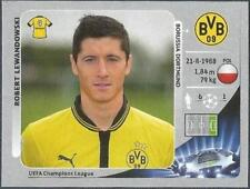 Panini UEFA Liga de Campeones 2012-13- #298-BORUSSIA Dortmund-Robert Lewandowski