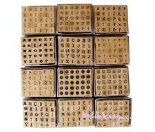 *GROS LOT DE 360 MINI TAMPONS ALPHABETS 12 modèles SCRAPBOOKING CARTE DECO*