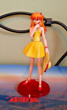 Neon Genesis Evangelion Asuka Figure Yellow Party Dress 6 in Bandai