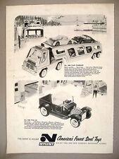 Nylint Steel Toy PRINT AD - 1967 ~ toys ~ Car Carrier, Tin Liz