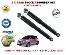 für Lancia Ypsilon 1.2 1.4 1.3 D JTD 2003-2011 2 x Hinterer Stoßdämpfer