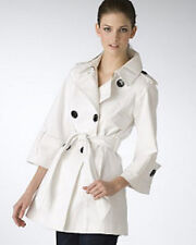 Bloomingdales Miss Sixty Double Breasted Trench Coat $179 XS US