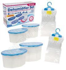 6x Condensation Dehumidifier Crystal Moisture Trap Damp Absorber Wardrobe Health
