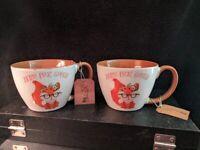 Zero Fox Given Mug Funny Gift Swearing Animal Pet Cute Cup Coffee Tea Nerd Tags
