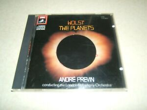 HOLST : THE PLANETS   PREVIN LSO   JAPAN EMI CD