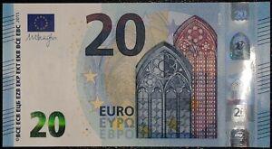 N1 FRANCE 20 Euro 2015, UB-serie UNC, DRAGHI Sign, Printer U003B3