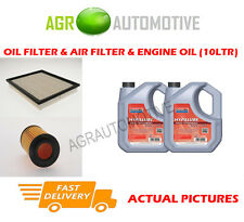 DIESEL OIL AIR FILTER + FS 5W40 OIL FOR JEEP GRAND CHEROKEE 2.7 163 BHP 2001-04