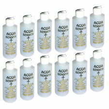 12 EMPTY Catholic Holy Water bottles 4.5oz Sprinkler Plastic Christian Religious