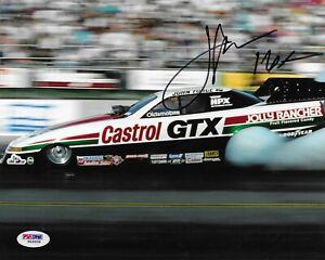 John Force Signed 8X10 Autographed PSA/DNA COA NHRA Funny Car W49958