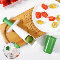 Fruit Tomato Grape Peeler Cherry Pitter Olive Cutter Chopper Push Press