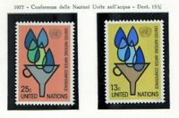19139) UNITED NATIONS (New York) 1977 MNH** Nuovi** Water