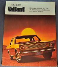 1969 Plymouth Valiant Brochure 100 200 Signet Excellent Original 69 Canadian
