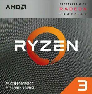 AMD - Ryzen 3 3200G 2nd Generation 4-Core - 4-Thread - 3.6 GHz (4.0 GHz Max