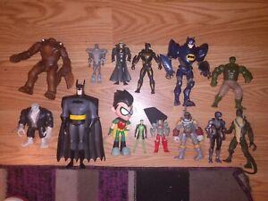 Marvel & DC Comics Action Figure Lot of 14 NICE!
