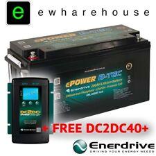 ENERDRIVE ePOWER B-TEC 12V/200Ah LITHIUM BATTERY W/ APP MONITOR + FREE DC2DC40+