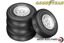 4 Goodyear Endurance ST205/75R14 105N D Auto/Boat/Travel Trailer Hauler ST Tires