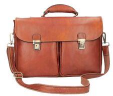 Italian Genuine Leather Briefcase / Workbag / Business Bag - brown