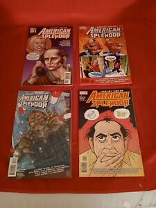 American Splendor #1-4 (Vol 1) Complete Mini Series DC Comics Vertigo 2006 NM
