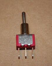 C&K SPDT 7105 Toggle Switch MOM-OFF-MOM 2 AMP-250VAC 5 AMP-120VAC New