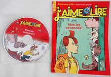 J'aime lire LIVRE + CD 7-10 ans No. 427 août 2012 Vive les vacances! état NEUF