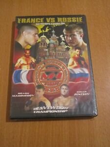 FRANCE VS RUSSIE M-1 MIX FIGHT CHAMPIONSHIP MMA DVD