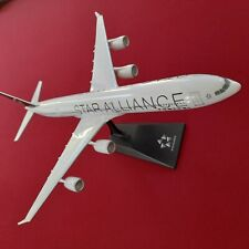 L&D🇫🇷 maquette Avion agence Star Alliance  Airbus A340-600 1:200