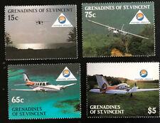 Grenadines of St Vincent 1988 set Mustique airways-collectible
