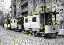 WW1 photo - Hospital tram, Kopenick, Berlin