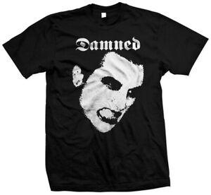 The Damned - Hand Silk Screened, Pre-shrunk 100% Cotton T-shirt Punk Rock