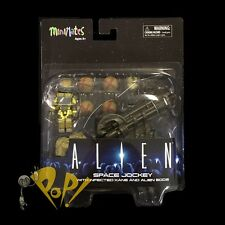 ALIEN Minimates SPACE JOCKEY with INFECTED KANE and EGGS Action Figure Set DST!