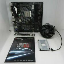 Biostar X370GT3 motherboard with Ryzen 5 1600 CPU