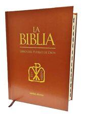 La Biblia Libro del Pueblo de Dios -Pasta Dura -CATOLICA -Editorial Verbo Divino
