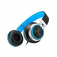AILIHEN C8 Foldable Headphones with Microphone and Volume Control Lightweight St