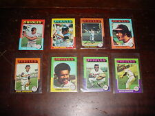 Baltimore Orioles 1975 Topps Minis 16 cards Brooks Robinson  Boog Powell