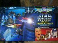GALOOB  MICRO MACHINES STAR WARS TRANSFORMING ACTION SETS, FOUR MIB, ONE NM-M