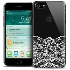 "Coque Crystal Gel Pour iPhone 7 (4.7"") Extra Fine Souple Spring Bas dentelle"