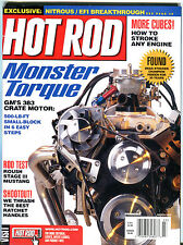 Hot Rod Magazine March 2002 Monster Torque GM's 383 Crate Motor EX 020916jhe