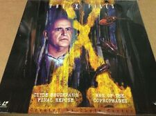 X-Files: Clyde Bruckman's Final Repose/War of the Coprophages Laserdisc NEW