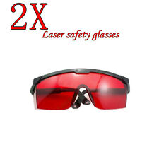 2PC 190nm-540nm(green/purple/blue) Laser Safety glasses goggles For Laser Pen US